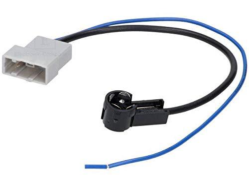 ADNAuto 81717 Adaptateur Antenne Iso M Coude-Infinity G35//Juke/Maxima/Navara/Pathfinder/Qashqai/Tiida/Versa/X-Trail