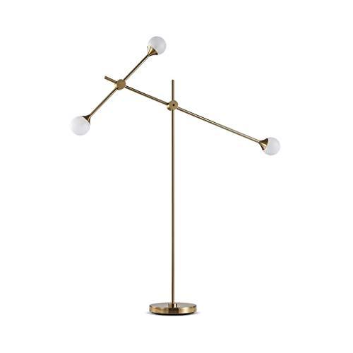 Lamp in Scandinavische stijl, modern, eenvoudig, woonkamer, salontafel, bank, slaapkamerlamp, bedkant van ijzer, W12/26 (kleur: geel B lichtbron), kleur: geel Light So