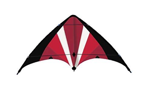 Eva Shop® NEUHEIT Premium Lenkdrachen Power Move 130 - Zweileinerdrachen Flugspiel aus Polyester Flugdrachen für Kinder und Jugendliche Drachen mit Wickelgriff und Drachenschnur 130 x 69 cm