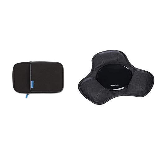Garmin Schutztasche für dezl und nüvi bis 17,8 cm (7 Zoll) schwarz & AmazonBasics - Armaturenbrett-Halterung für tragbare Navigationsgeräte von Garmin, Tomtom, Magellan und Anderen Marken