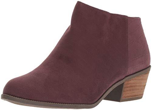 Dr. Scholl's Shoes Damen Brendel Stiefelette, Merlot Microfiber, 36.5 EU