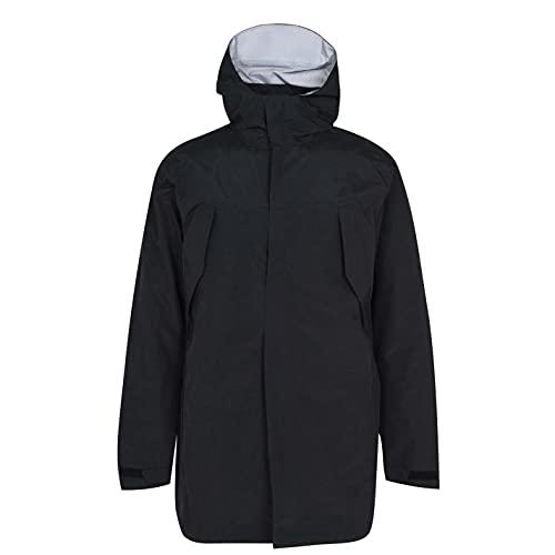 Karrimor Mujer Abrigo con Capucha Fija con Cremallera Casual Negro/BK 46 2XL