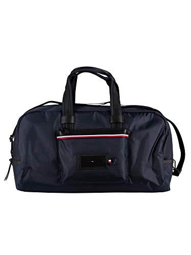 Tommy Hilfiger - Modern Nylon Weekender, Shoppers y bolsos de hombro Hombre, Multicolor (Sky Captain), 24x30.5x55 cm (W x H L)