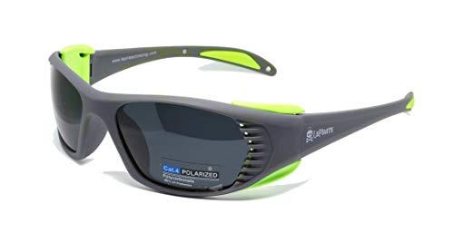 Lepirate Mirror Wall, Gafas de Sol Deportivas, polarizadas Glaciar (Cat 4) Alpinismo, Escalada, esquí, Trekking.