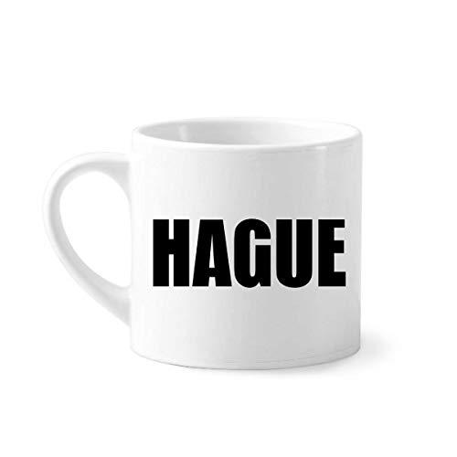 DIYthinker Den Haag Nederland Stad Naam Mini Koffie Mok Wit Aardewerk Keramische Beker Met Handvat 6oz Gift