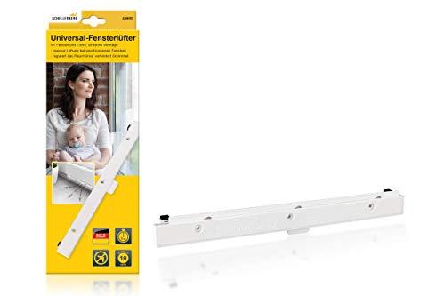Schellenberg 46600 Universal-Fensterlüfter Passivlüftung für den Fensterflügel, Weiß