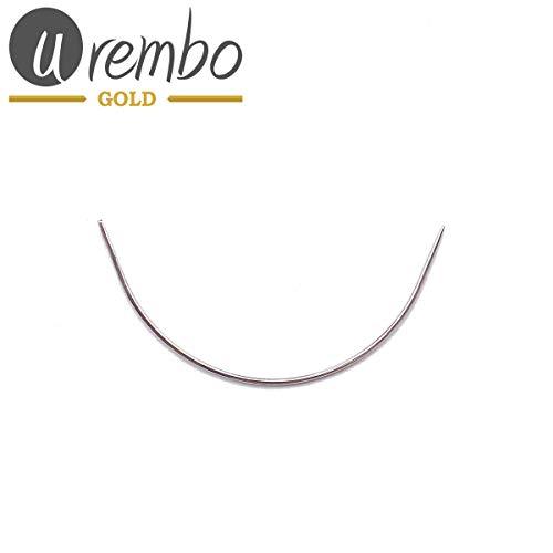 urembo or Weaving Needle Curved – Aiguille courbe à coudre pour de fixation Extensions