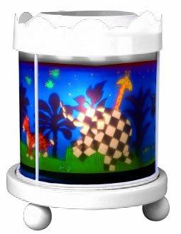 Trousselier 43M64WGB Merry Go Round Elmer - Lámpara de noche (12 V)