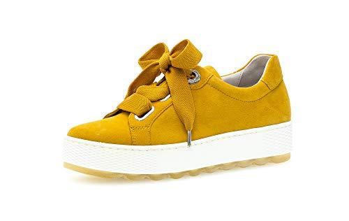 Gabor Zapatillas de skate para mujer, color Amarillo, talla 40 EU