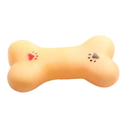 CULER Resistente a la mordedura de Perro de Perrito del Hueso Molares Rubber Ball Juego de Dientes Formación térmica de Goma de plástico Juguetes para Perros Mascotas