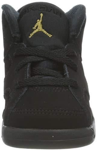 Nike CT4966-007, Zapatillas Deportivas Bebé-Niños, Black/Metallic Gold-Black, 17 EU