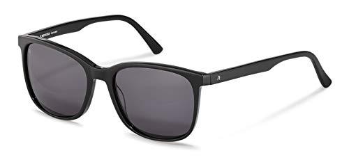 Rodenstock Herren Sonnenbrille R3317, leichte und eckige Sonnenbrille mit Kunststoffgestell