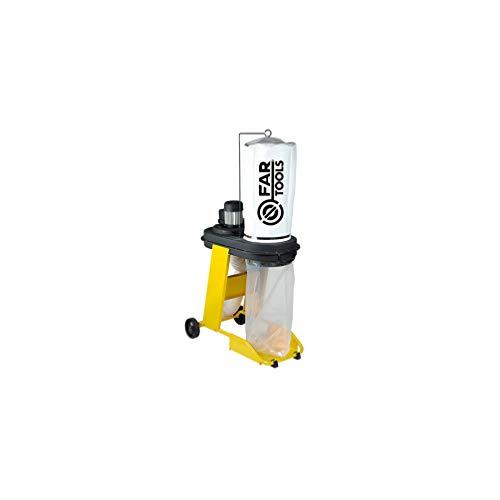 Fartools 113246 Aspirateur à copeaux 550 W Diamètre 100 mm Charges maxi 65L Diamètre du cylindre 320 mm
