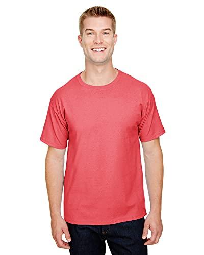 Camiseta Masculina A4 Topflight Heather, Scarlet, Medium
