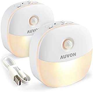 AUVON Rechargeable Motion Sensor Night Light