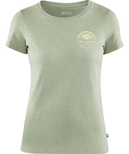 FJÄLLRÄVEN T-Shirt Forever Nature pour Femme L Vert Sage