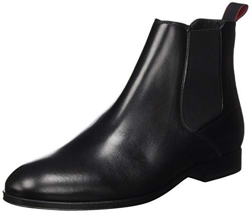 HUGO Herren Boheme_Cheb_ltst1 Chelsea-Stiefel, Black1, 46 EU, 46