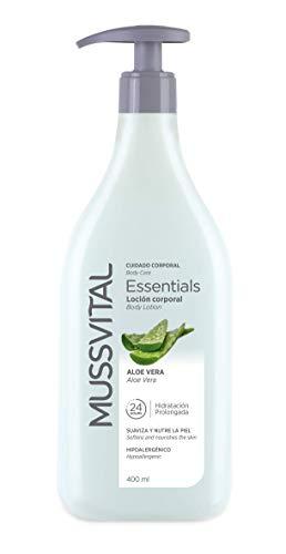 Mussvital Essentials Loción Hidratante Aloe Vera 400 ML