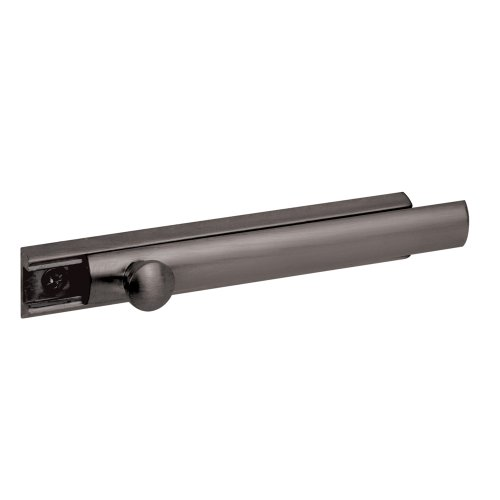 Defender Security U 10307 4-Inch Surface Bolt, Solid Brass, Classic Bronze Finish