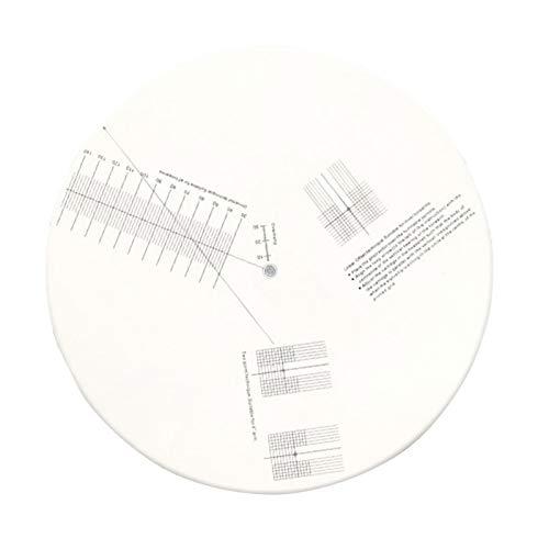 Herramienta de ajuste de la placa de calibración del transportador del cartucho de fono de la alineación de la plataforma giratoria