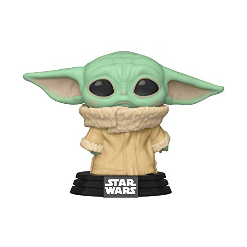 Funko 50210 The Mandalorian Pop! Star Wars The Child (Baby Yoda) Exclusive Vinyl Figure #384 (Concerned, Sad Look)