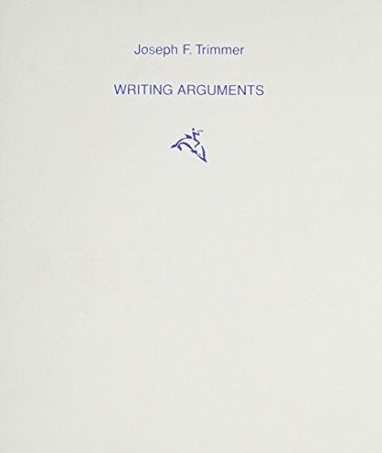Keys for Writers: Argument Book
