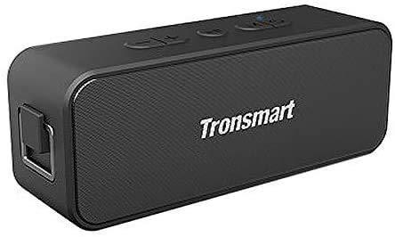 Tronsmart T2 Plus Enceinte Bluetooth Haut-Parleur sans Fil Bluetooth 5.0 Portable Speaker 20W Deep Bass e Audio Puissant Autonomie 24H Étanche IPX7 Assistant Vocal Taille Compact