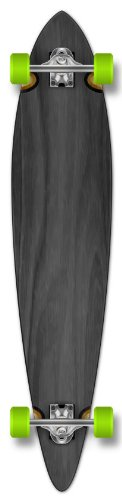 Yocaher Punked Stained Pintail Complete Longboard