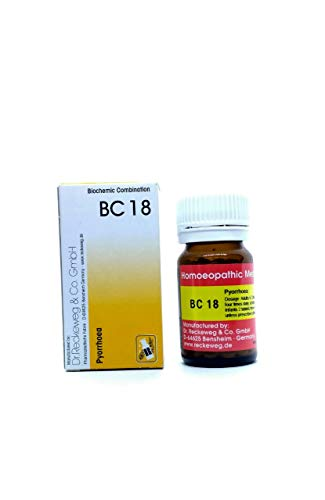 Dr.Reckeweg BC 18 Tablets-Biochemic Combination for Pyorrhoea-German Homeopathic Combination of Cell Salts (20 Gram)