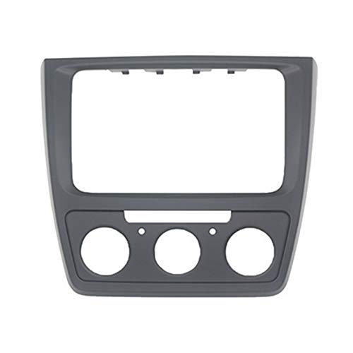 FangFang Coche Radio Fascia Fit para Skoda Yeti 2009+ Estéreo Fascia Dash CD Frame Kit De Marco (Color Name : Manual)