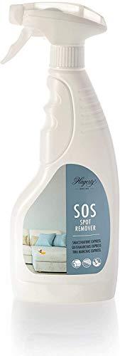 Hagerty Sos Spot Remover Smacchiatore Spray per Tessili, Detergente per Tessuti Efficace Su Tappeti Cuscini Materassi Mobili Imbottiti Sedili, Smacchiante per Tessuti Lavabili, Bianco, 500 ml