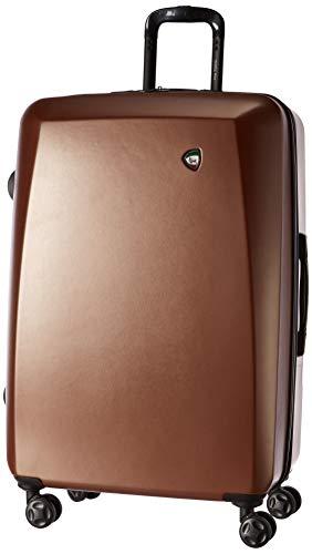 Mia Toro Italy Gemma Hard Side 28 Inch Spinner, Copper, One Size