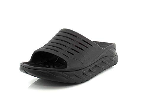 Hoka One One Womens ORA Recovery Slide 2 Black/Black Sandal - 9