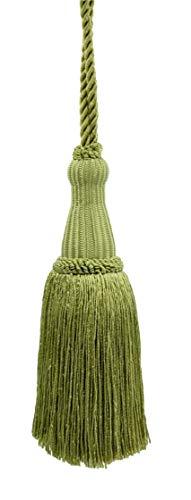 DecoPro décoratifs 14 cm Key Tassel, élégantes, Style # Ktc055 Couleur : L26