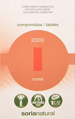 Soria Natural Iodo Retard - 48 comprimidos/tablets 200 mg