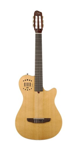Godin Multiac Grand Concert Duet Ambiance Natural Highgloss