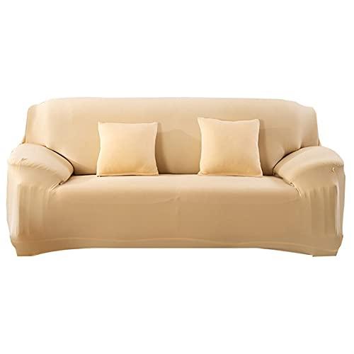 HMGANG Sofá estirado elástico Sofa Sofa Caja de sofá Todo Incluido para la Sala de Estar Cubierta de sofá 1/2/3/4 plazas (Color : 31, Specification : 3 Seater 190 230cm)