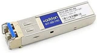 Addon OC12-SFP-IR1-AO SFP (mini-GBIC) transceiver module ( equivalent to: Brocade OC12-SFP-IR1 ) - LC single mode - up to 9.3 miles - OC-12/STM-4 IR-1 - 1310 nm - for Brocade NetIron MLX-16, MLX-4, XMR 16000, XMR 4000, Foundry NetIron MLX-8, XMR 8000