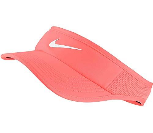 Nike W Nk Arobill Fthrlt Visor Adj - sunblush, Größe:-
