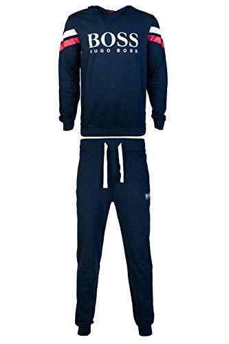 BOSS Herren Authentic Sweatshirt, Dark Blue403, XL