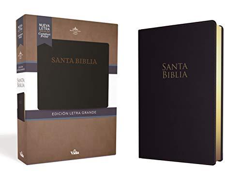 Rvr60 Santa Biblia Letra Grande, Leathersoft