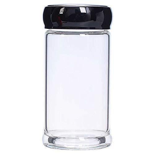 CXL Vidrio portátil de una Sola Capa, Taza de té de Oficina de Fondo Grueso Resistente al Calor, Taza de Agua de Vidrio Duradera