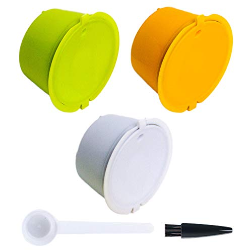 Lowest Price! Capsule for Dolce Gusto, Capsule for Dolce Coffee Machine 3PCS Refillable Reusable Cof...