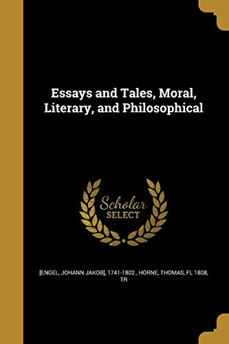 ESSAYS & TALES MORAL LITERARY