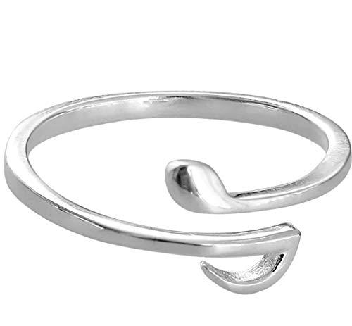 Anillo plata ley Iszie Jewellery diseño