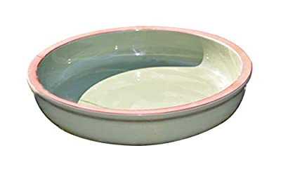 Everything Wildlife Bird Bath - Green Ceramic from Wildlife World