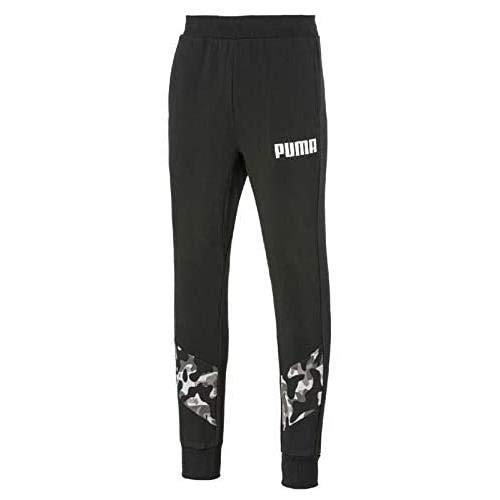 Puma Rebel Camo Pants Cl TR Pantalon, Hombre, Black, S