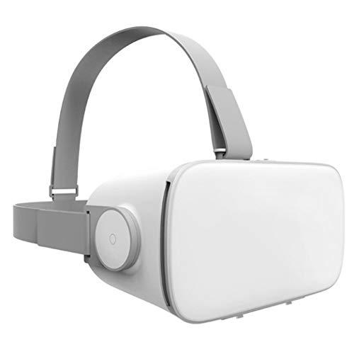 JCSW VR Brille, 3D Brille, 110°FOV, Geeignet 4,7-5.5 Zoll Smartphone Handy mit Bluetooth Controller für iPhone 12/11/X/Xs/Max/8P/7P/8/7, Samsung S10/S9/S8/Note 10/9/8/Plus, O028xb. (Size : IOS)