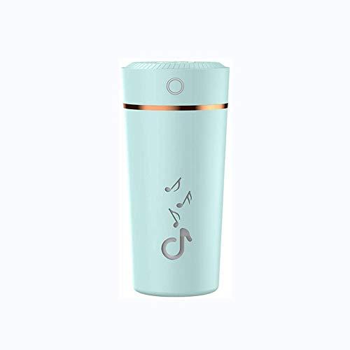 XZJJZ Auto-Ätherisches Öl-Diffusor Mini Ultraschall Farbe Cup Luftbefeuchter LED-Nachtlicht USB-Aromatherapie Fogger Auto Lufterfrischer (Color : B)
