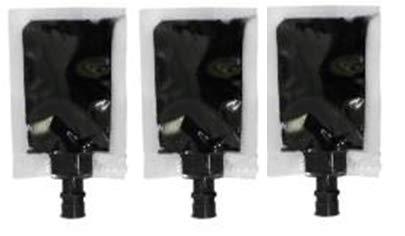 Cartridge World Bolsas de recambio de tinta negra (bolsa de 6 ml) para Canon PG-510, PG-540, PG-545 6 unidades